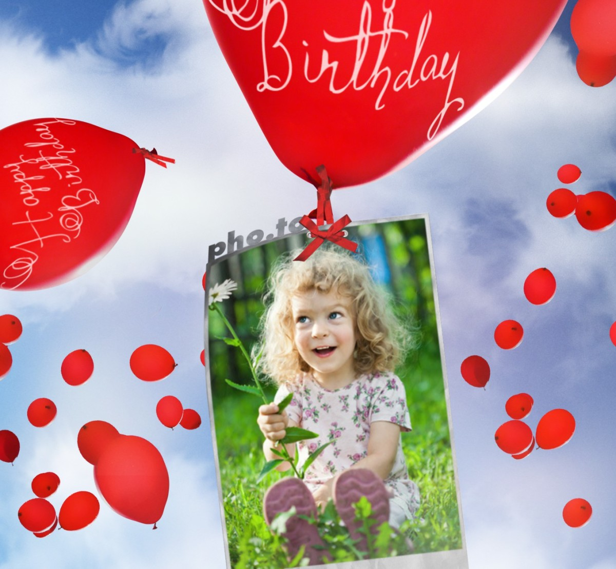 Online birthday card as a way to send long-distance birthday greetings.