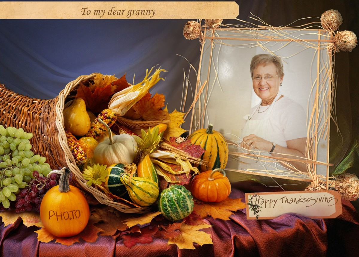 Upload a photo and add your greetings to this thanksgiving ecard.