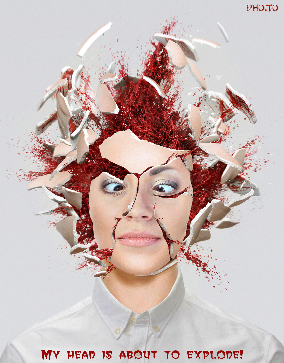 A creative way to say 'My head is about to explode!'