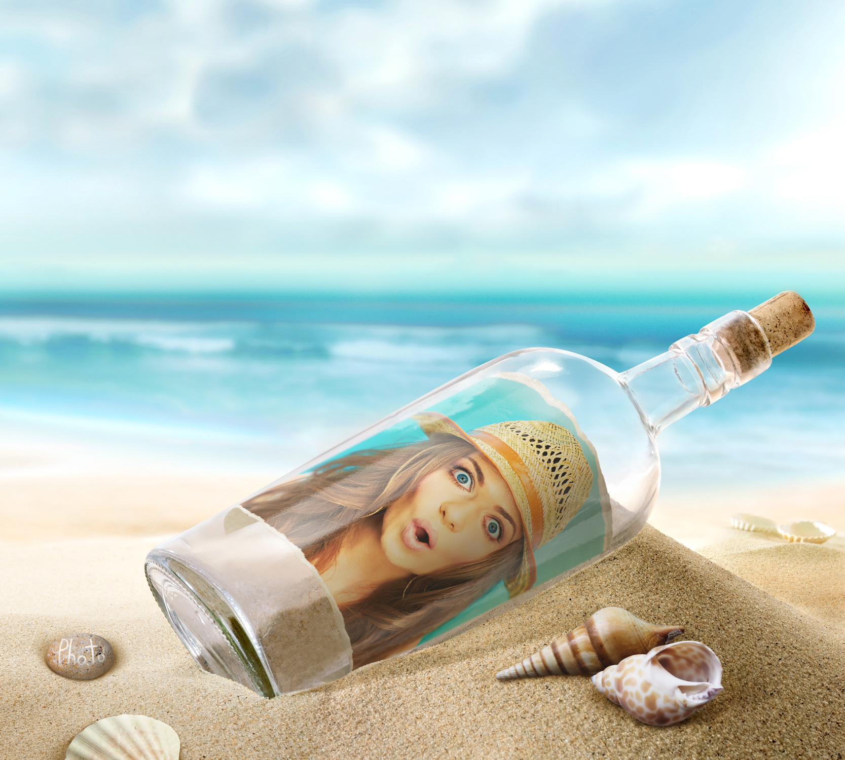 Wonder how to make your message in a bottle? Search no more!
