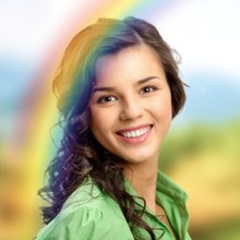 Rainbow Photo Effect