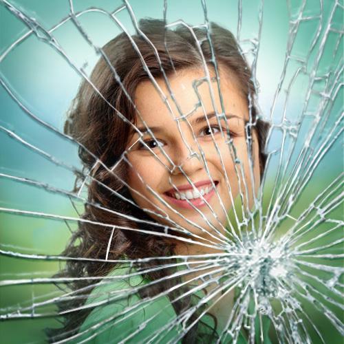 broken glass effect in photoshop cs6