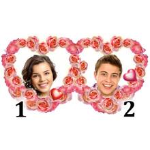 Double Valentine Photo Frame