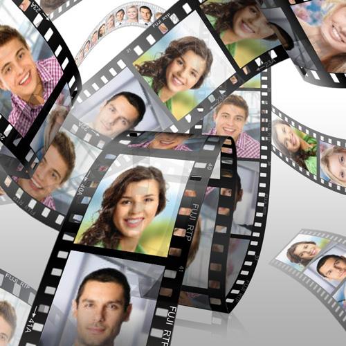 39 3d filmstrip 39 multiple photo frame for your photos. Black Bedroom Furniture Sets. Home Design Ideas