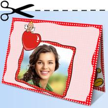 Dolce Cartolina di San Valentino