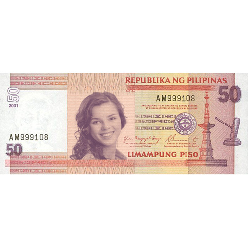 put your face on money with philippine peso template