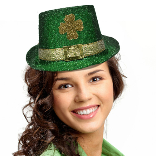 make your st patrick s day card with leprechaun hat template