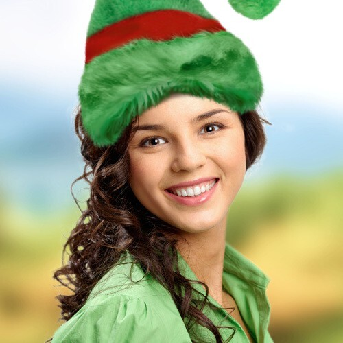 Add christmas elf hat to your photo with elf hat template solutioingenieria Choice Image