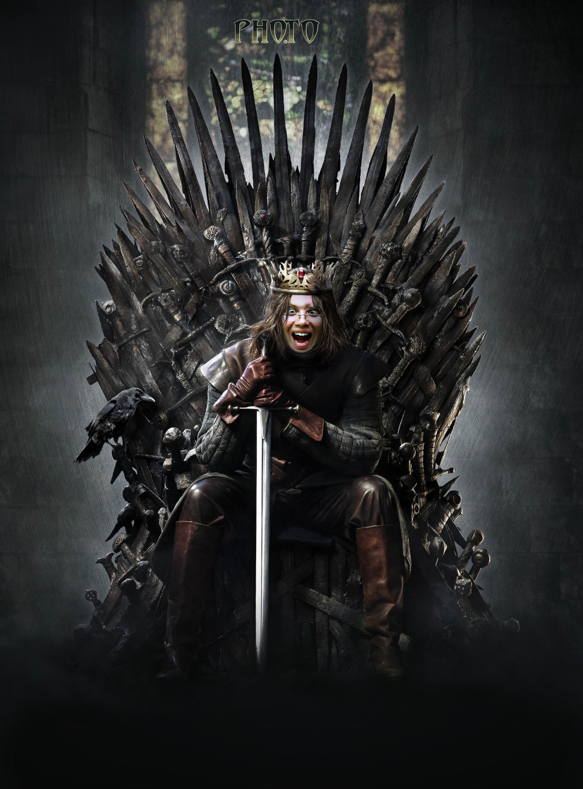 Become a king of Westeros and sit on the  iron throne via face montage.