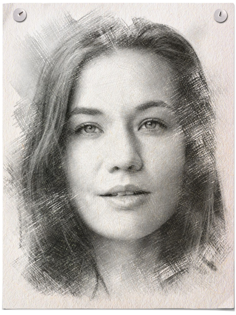 Pencil Drawing Effect