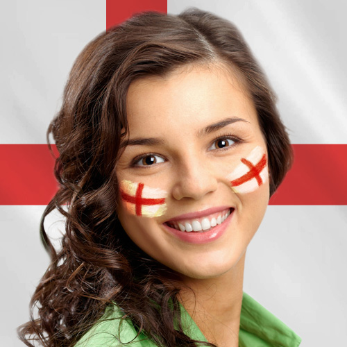 Make England Flag Face Paint Online Like A True Football Fan