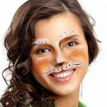 Wild Cat Face Paint