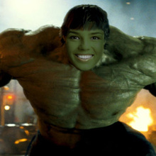 Hulk yourself with our Hulk generator online