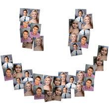 Smile Shaped Collage