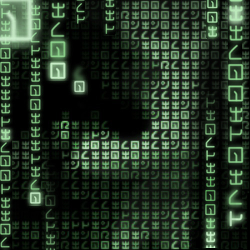 Matrix photo generator: apply green code effect to your pics
