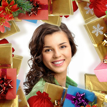 Cadre Cadeaux de Noël
