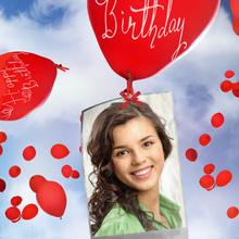 Birthday Ecard with Balloons