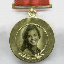 Alte Medaille